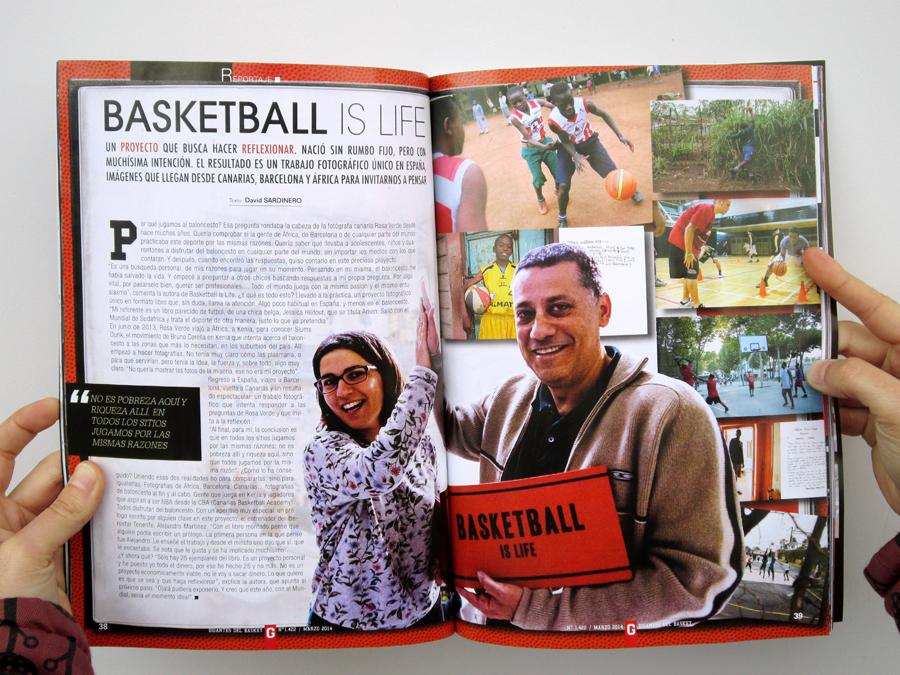 Gigantes del Basket Magazine, March 2014