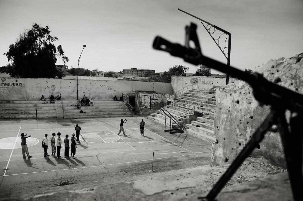 Woman basketball Mogadishu